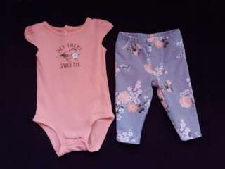 Carter's clthes for baby girl
