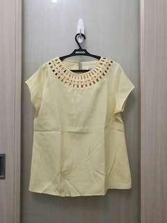 Pastel Yellow Top