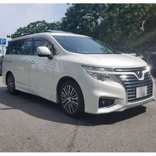 15 NISSAN ELGRAND HIGHWAYSTAR