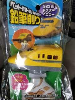 日本火車鉛筆刨 黃色 dr.yellow type923 列車 玩具日本購入 鐵路