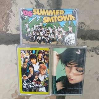 Koleksi Kaset Pita Lagu Korea dan Jepang (PRELOVED)