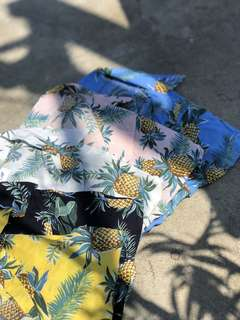 Summer Print Button-downs