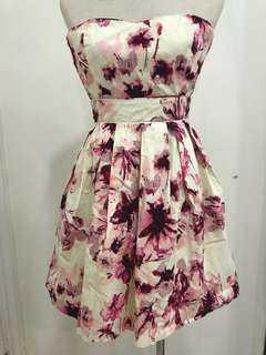 #12 Pleated Floral Dress