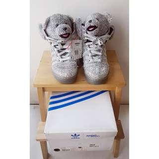 Adidas Originals Jeremy Scott Bear in Silver