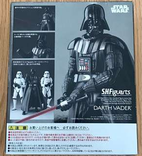 全新未開封 SHF Star Wars 星球大戰 黑武士 Darth Vader $319