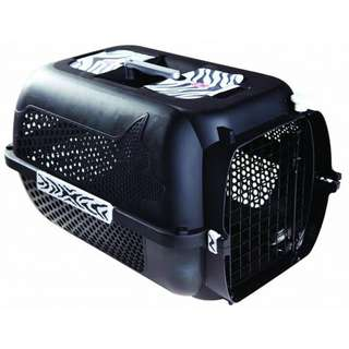 Catit Voyageur 100 Cat Carrier - Black Tiger