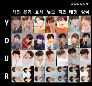 [ wtb / lf ] bts love yourself tear photocards