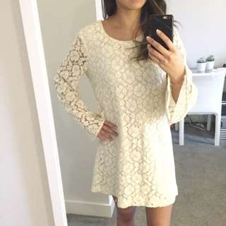 H&M Embroidery Dress