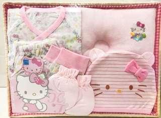 🚚 三麗鷗HELLO KITTY凱蒂貓夏天肚衣套裝禮盒組