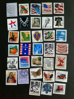 US. Used stamps