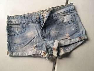 F21 Denim Shorts