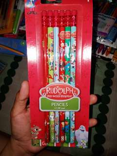 Rudolph The Red Nose Reindeer #2 Pencils 6ct