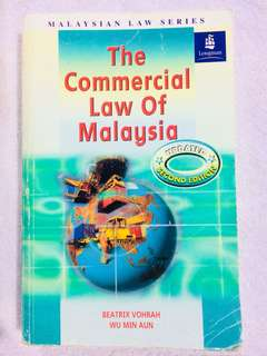 The commercial law of Malaysia 7th edition