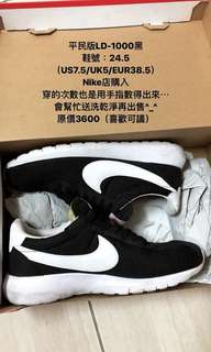 🚚 #nike #LD1000 #黑(有鞋盒)