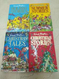 Enid Blyton - holiday stories, summer stories, Christmas tales and Christmas stories