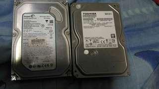 兩個硬碟便宜賣