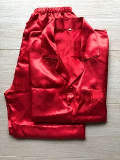 wedding 男紅睡衣