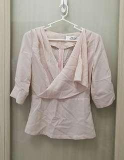Light Pink Korean Top