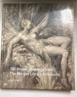 100 Master Drawings from The Morgan Library & Museum Book Coffee Table