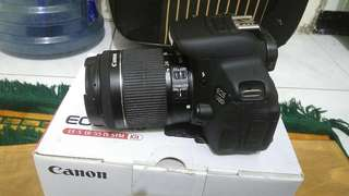Canon DSLR 700D lensa kit stm 18-55 mm