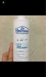 Dr. Belmeur Toner and Serum