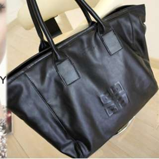 Instock GIVENCHY Parfums Emboss Logo PU Tote Bag *GWP* ASC322 + FREE Normal Mail