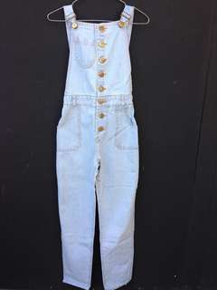 Jumpsuit Jeans Light blue