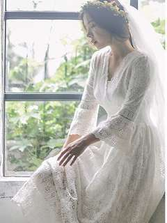 Pre-wedding PW 旅拍白色輕婚紗