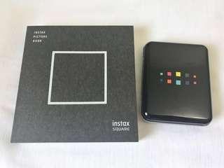 Instax square album and case