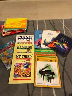 Assorted Piano Music books