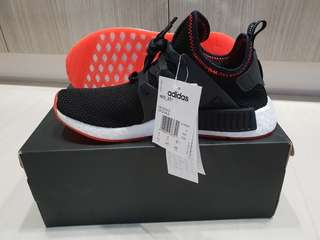 (Reserved) Adidas NMD XR1 Core Black Solar Red