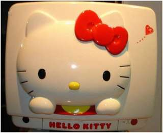 ** 分享 ** Sanrio Hello Kitty 1989 年 (Sanrio 創業 30 周年記念) 限量版電視機 (Made in Japan)