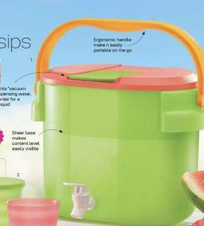 Tupperware water container