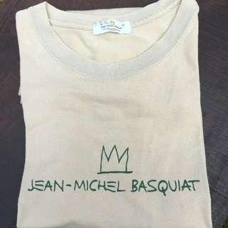 T-shirt Jean Michel Basquiat