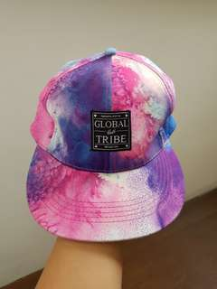 Galaxy inspired cap