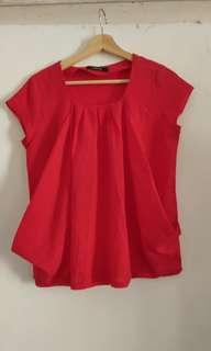 Blanik Red Blouse 1