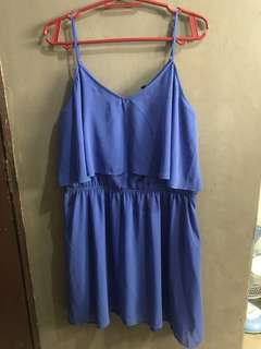 Pre-loved Blue dress - Plus size
