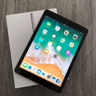 新淨 Apple iPad 9.7 Wi-Fi + Celluar 128GB 太空灰 有保
