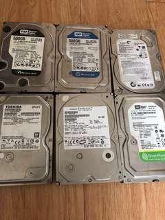 3.5吋500gb硬碟