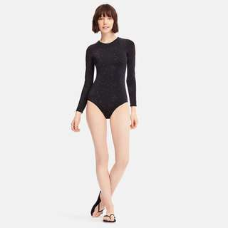 Uniqlo x Tomas Maier Printed Long Sleeve Rash Guard Swimsuit