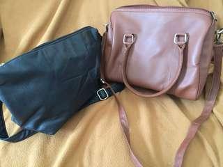 Top handle + sling bag (2 bags for 80K)