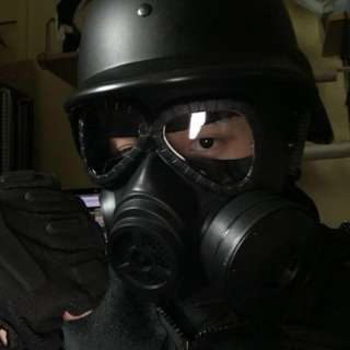 GAS MASK (Color: BLACK | DESERT | JUNGLE) (IN STOCK!)
