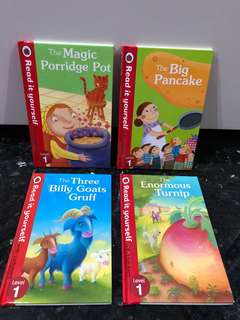 Ladybird Read Yourself Level 1 Children English Phonics Kindergarten Story Books