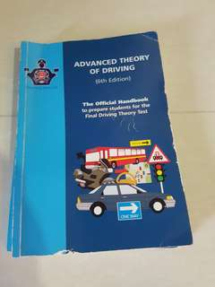 Advanced Theory of Driving book