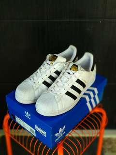 Adidas Superstar White Black ORIGINAL