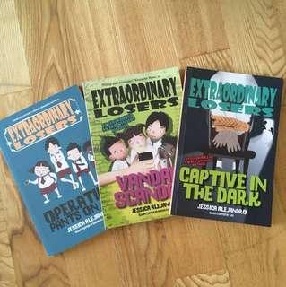 3 Extraordinary Losers Books By Jessica Alejandro