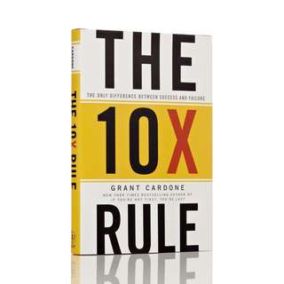 eBook - The 10 x Rule by Grant Cardone
