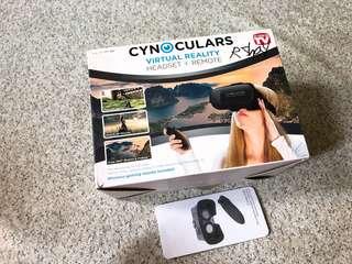 Cynoculars Virtual Reality Headset Plus remote