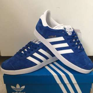 Adidas Originals Gazelle Blue Sneakers