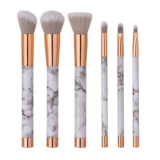 🚚 Marbling Makeup Brushes Set (LIMITED STOCK)
